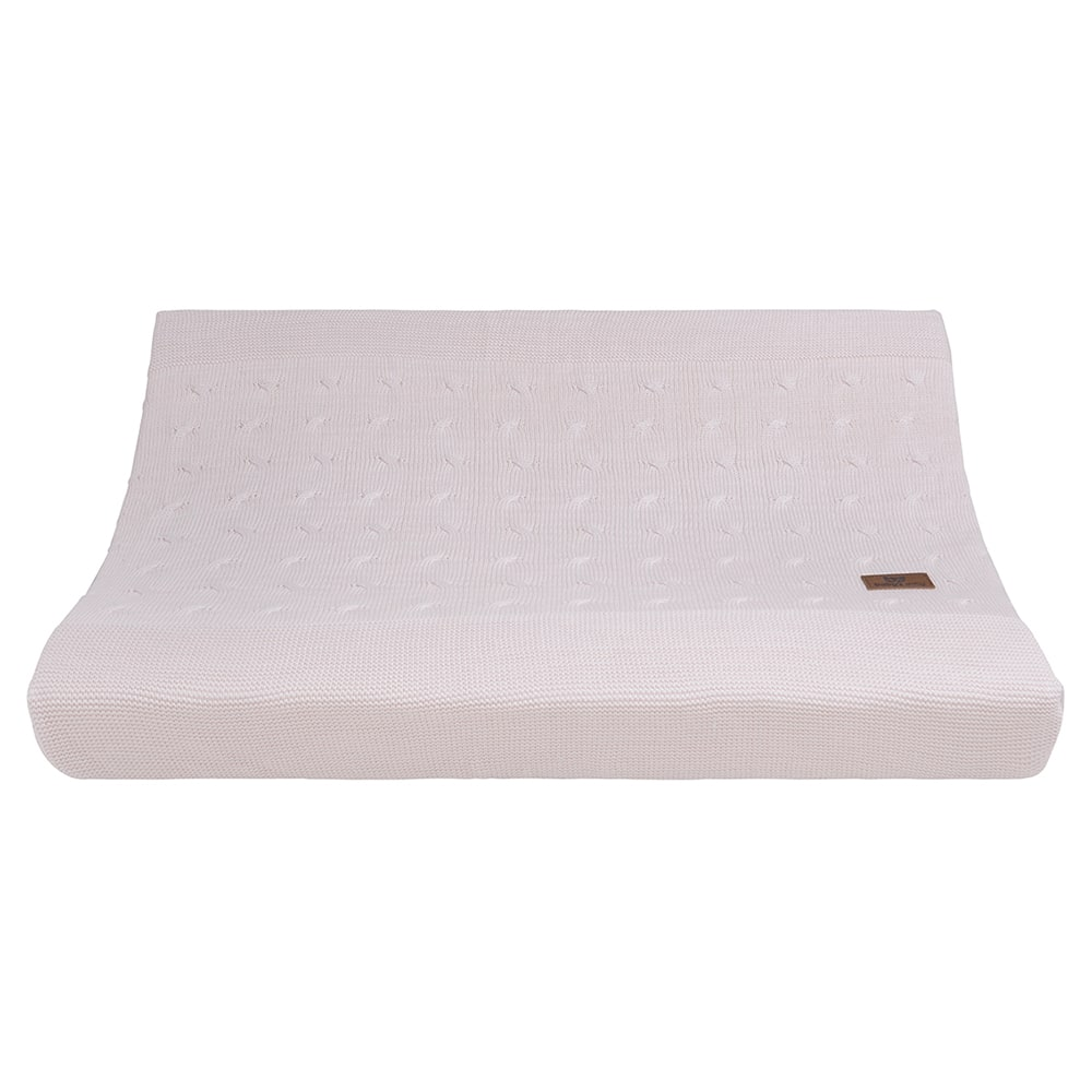 changing pad cover cable classic pink 45x70