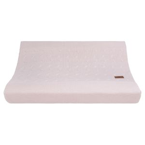 Changing pad cover Cable classic pink - 45x70