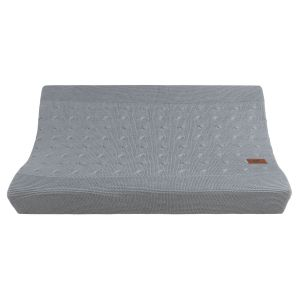 Changing pad cover Cable grey - 45x70