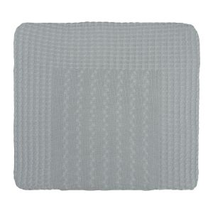 Changing pad cover Cable grey - 75x85