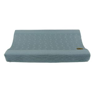Changing pad cover Cable stonegreen - 45x70