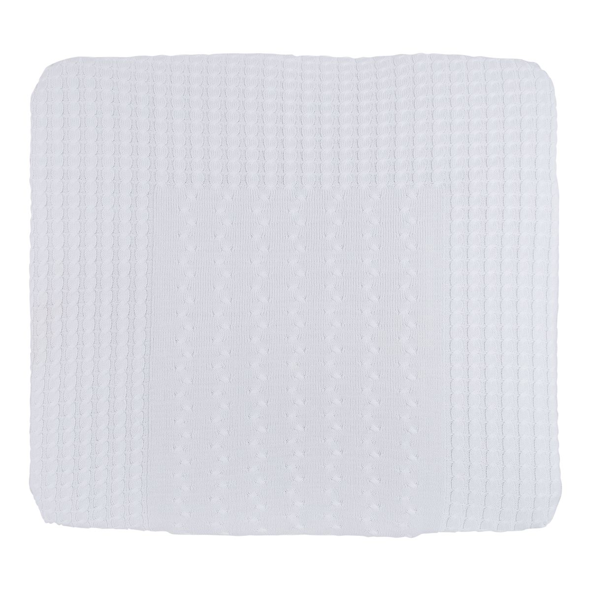 changing pad cover cable white 75x85