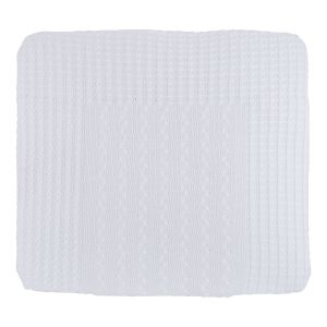 Changing pad cover Cable white - 75x85