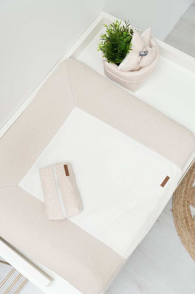 changing pad cover classic blush 75x85