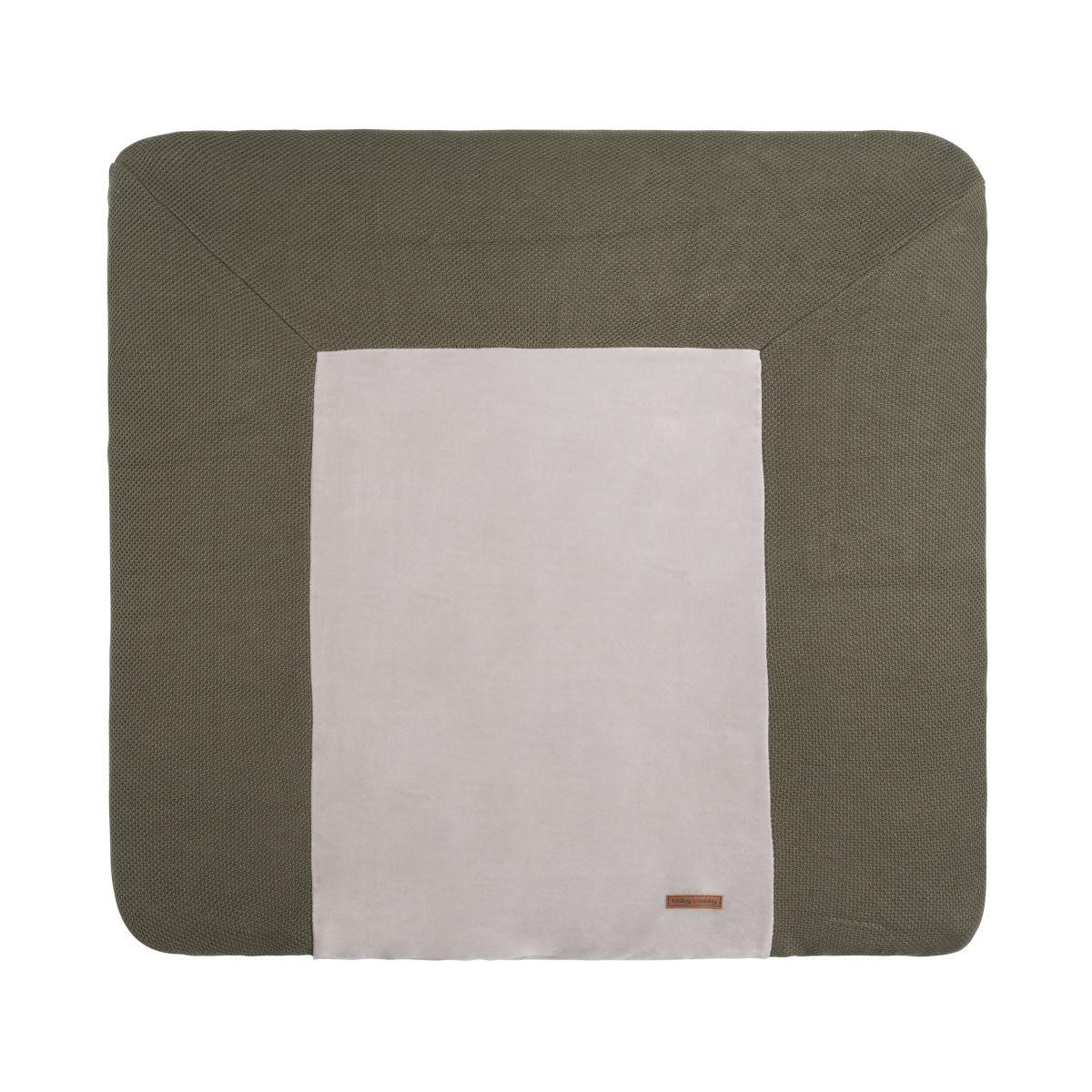 changing pad cover classic khaki 75x85