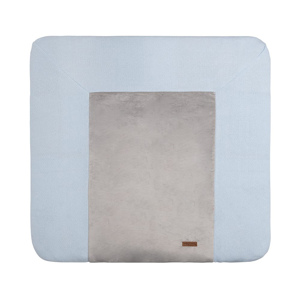 changing pad cover classic powder blue 75x85