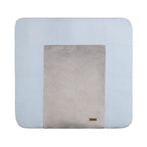 Changing pad cover Classic powder blue - 75x85