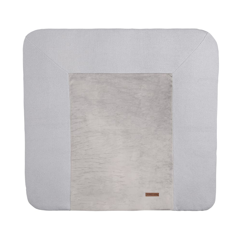 changing pad cover classic silvergrey 75x85