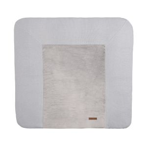 Changing pad cover Classic silver-grey - 75x85