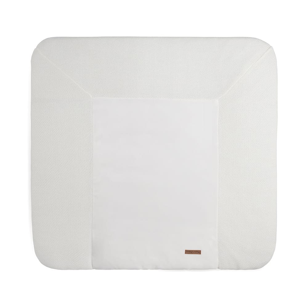 changing pad cover classic woolwhite 75x85