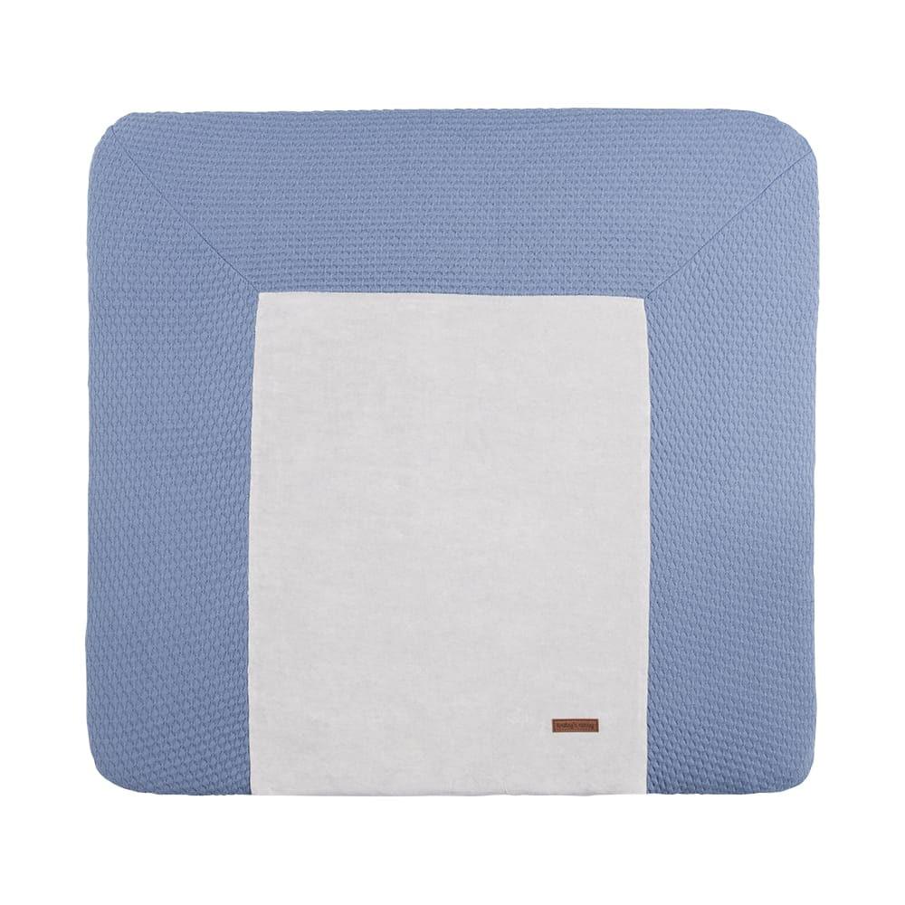 changing pad cover cloud indigo 75x85