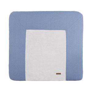 Changing pad cover Cloud indigo - 75x85