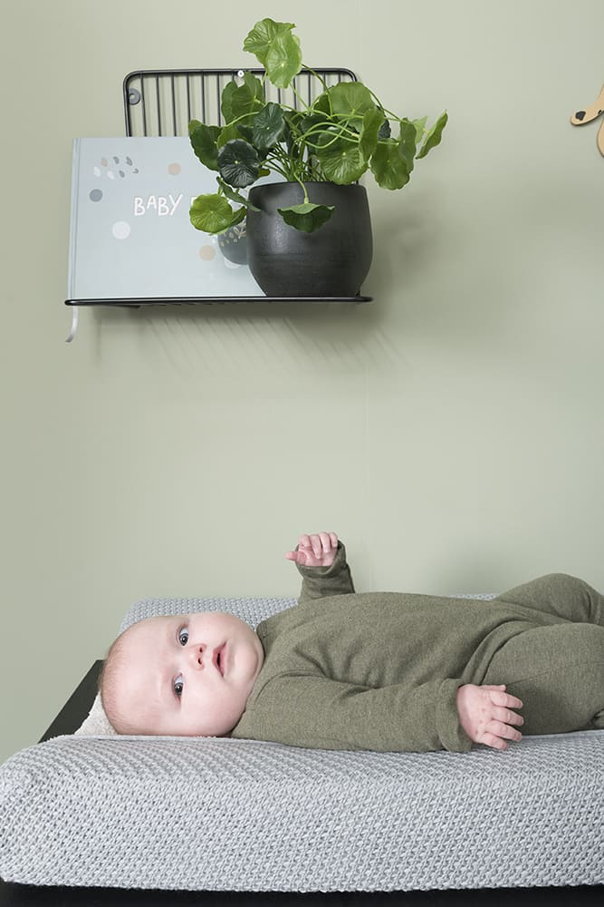 changing pad cover flavor green 45x70