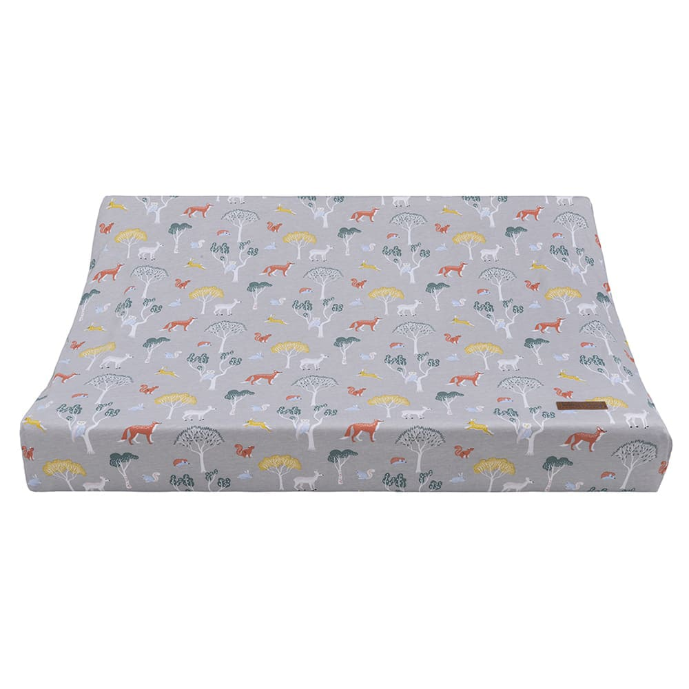 changing pad cover forest 45x70