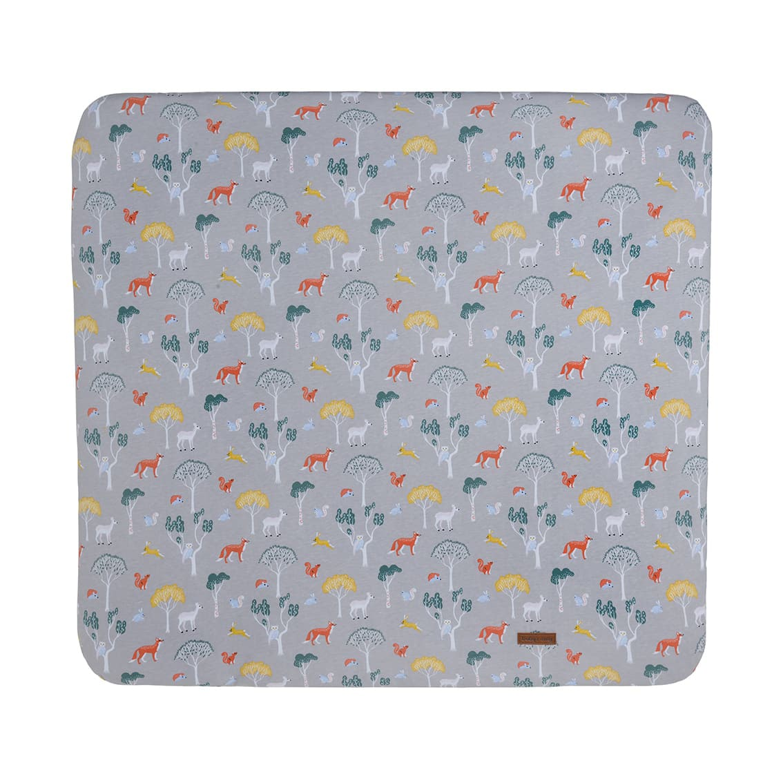 changing pad cover forest 75x85