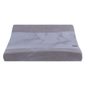 Changing pad cover Marble cool grey/lilac