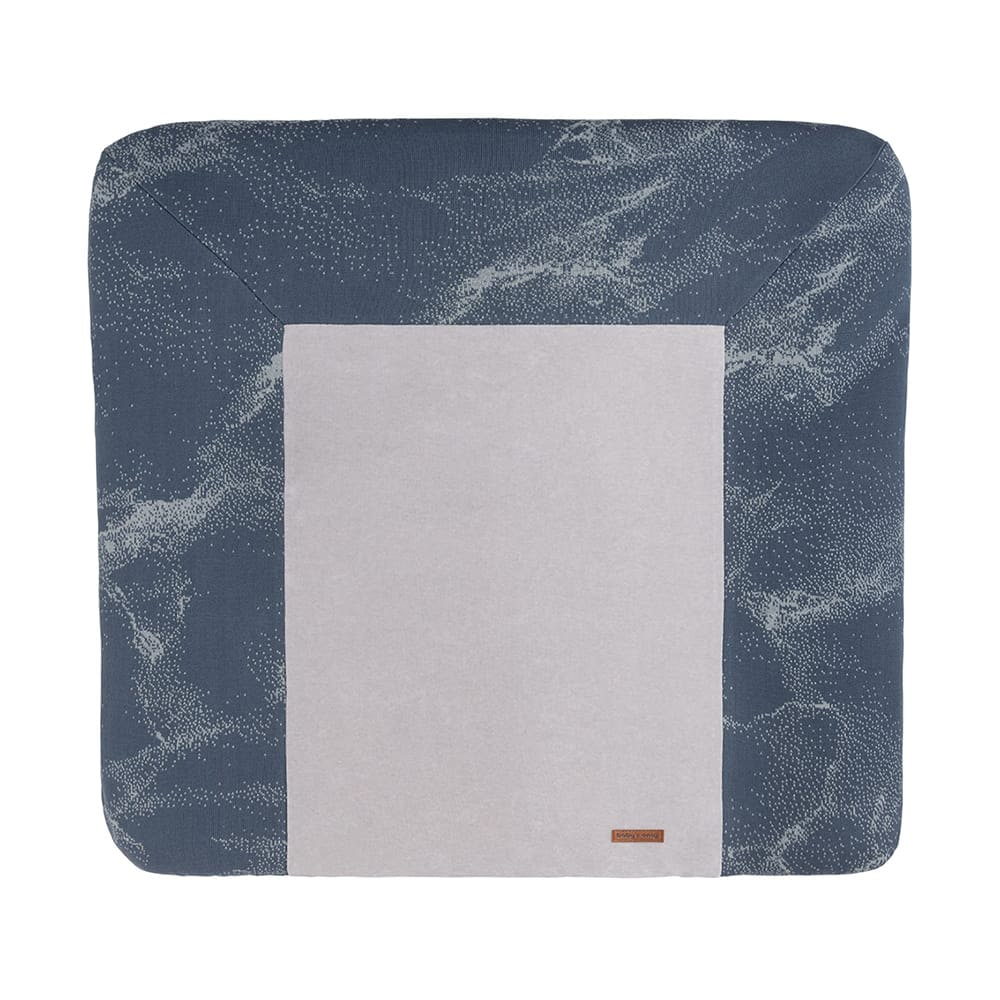 changing pad cover marble granitgrey 75x85