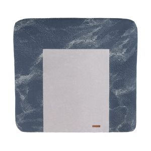 Changing pad cover Marble granit/grey - 75x85