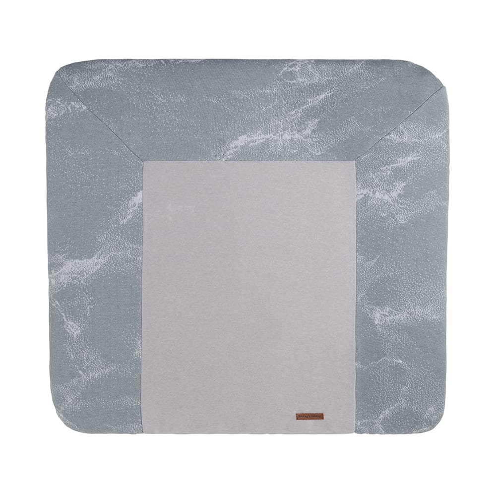 changing pad cover marble greysilvergrey 75x85