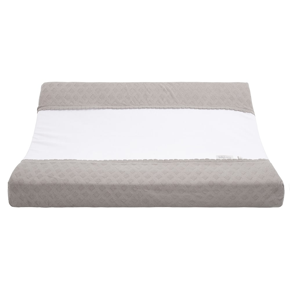 changing pad cover reef urban taupe 45x70