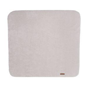 Changing pad cover Sense pebble grey - 75x85