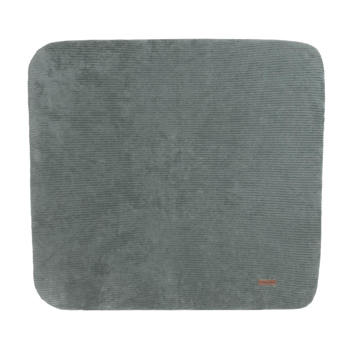 changing pad cover sense sea green 75x85