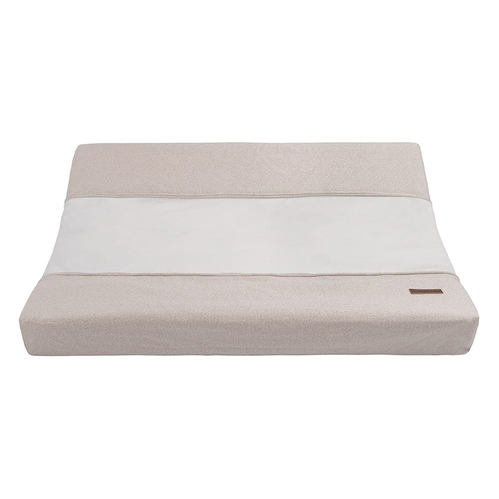 changing pad cover sparkle goldivory melee 45x70