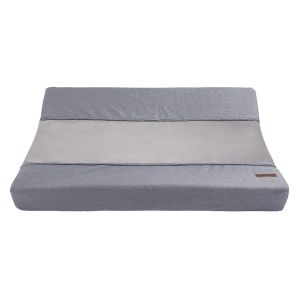Changing pad cover Sparkle silver-grey melee - 45x70