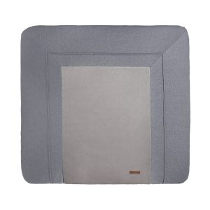 Changing pad cover Sparkle silver-grey melee - 75x85