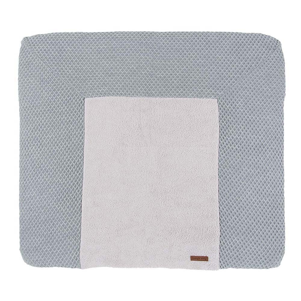 changing pad cover sun greysilvergrey 75x85