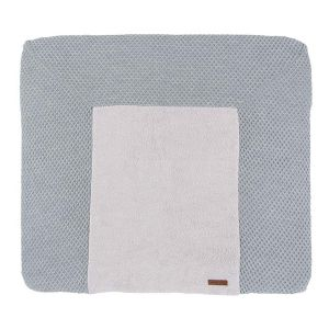 Changing pad cover Sun grey/silver-grey - 75x85