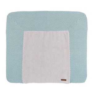 Changing pad cover Sun mint/stonegreen - 75x85
