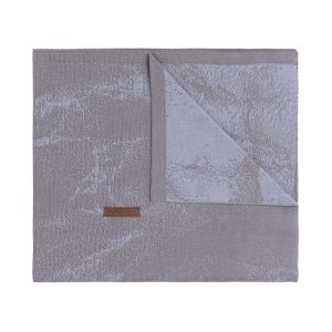 Cot blanket Marble cool grey/lilac