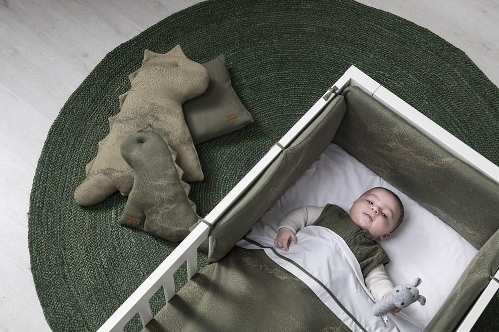 cot blanket marble granitgrey