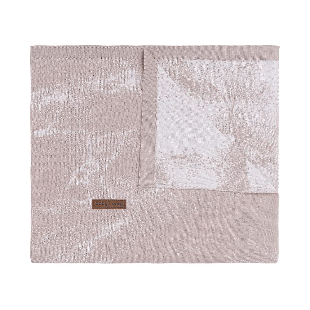 cot blanket marble old pinkclassic pink