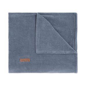 Cot blanket Sense vintage blue