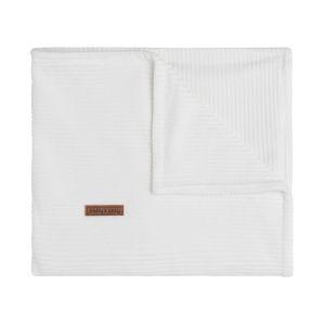 Cot blanket Sense white