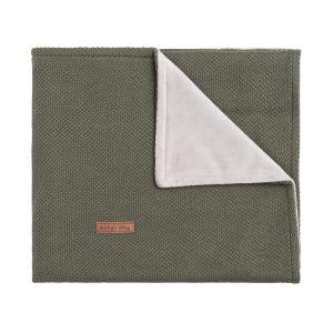 Cot blanket soft Classic khaki