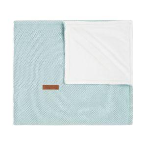 Cot blanket soft Classic mint
