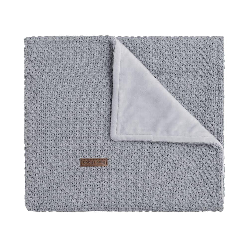 cot blanket soft flavor grey
