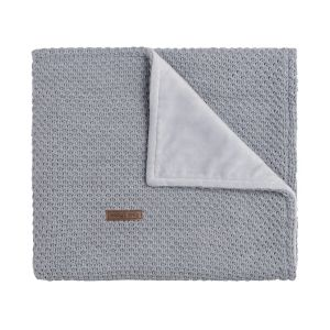 Cot blanket soft Flavor grey