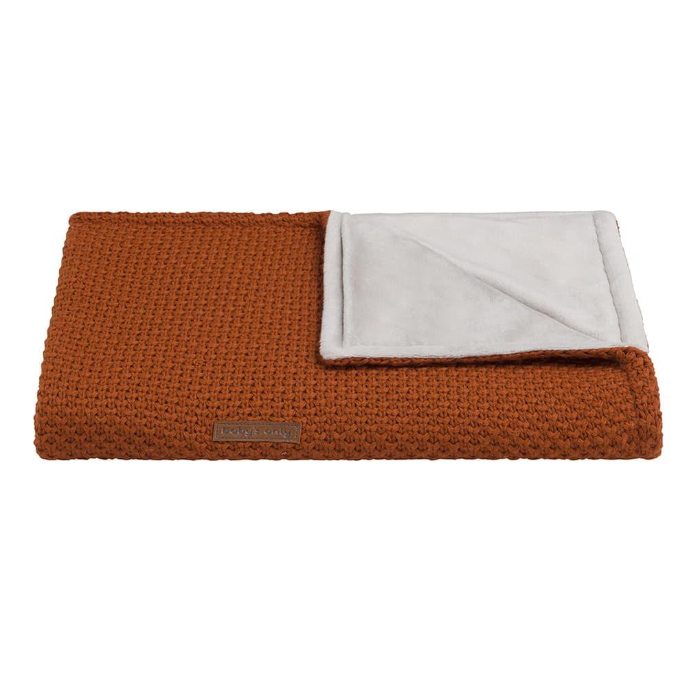 cot blanket soft flavor rust