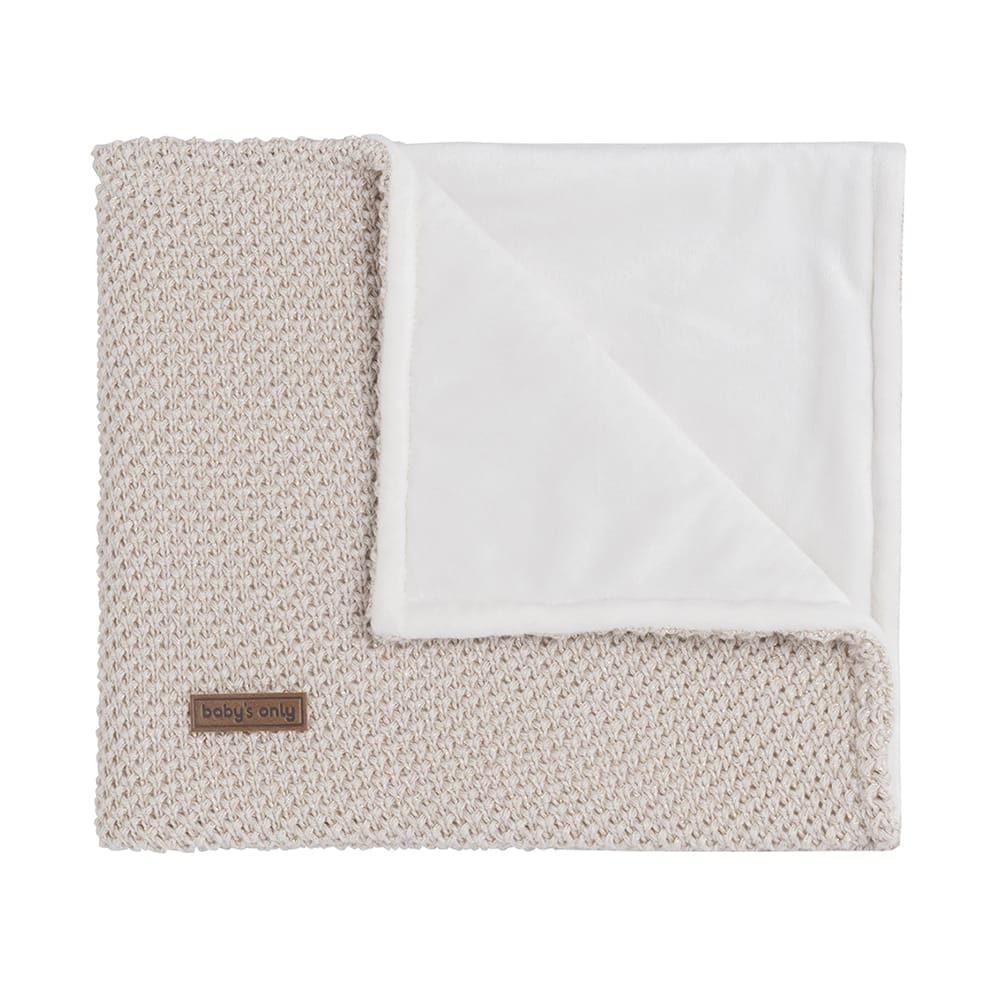 cot blanket soft sparkleflavor goldivory melee