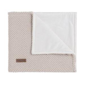 Cot blanket soft Sparkle-Flavor gold-ivory melee