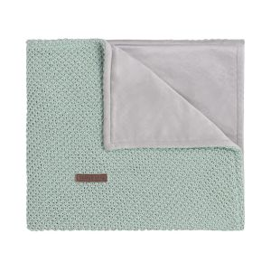 Cot blanket soft Sparkle-flavor gold-mint melee