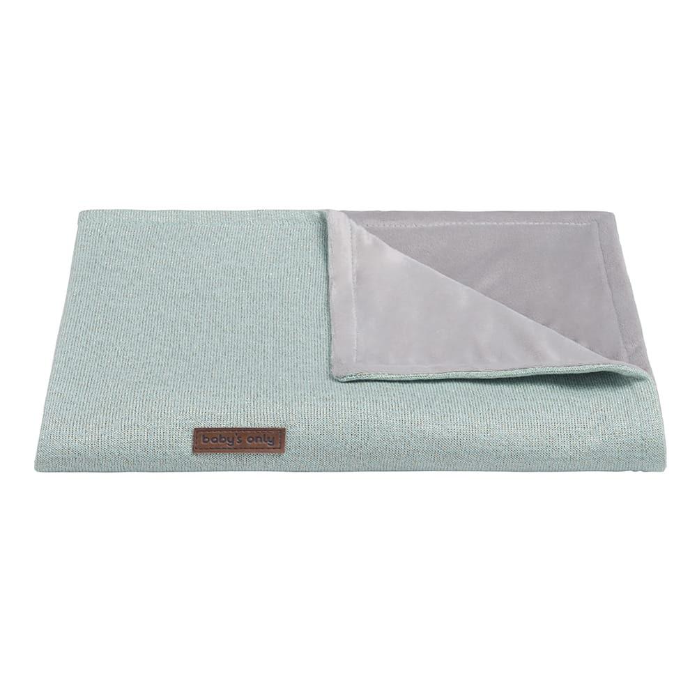 cot blanket soft sparkle goldmint melee