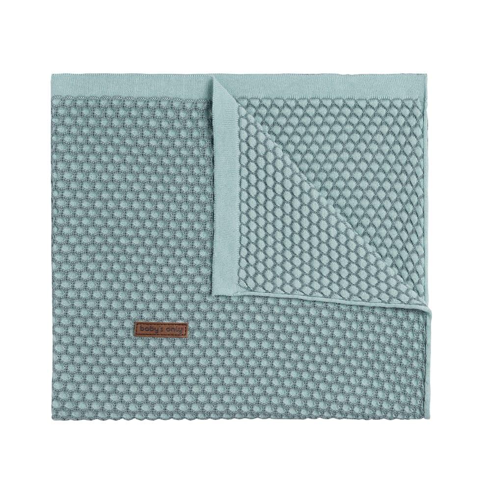 cot blanket sun mintstonegreen