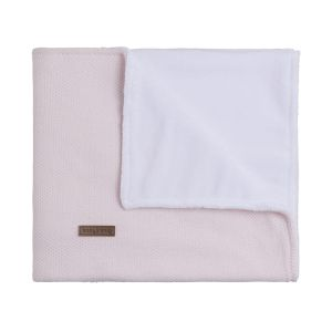 Cot blanket teddy Classic pink