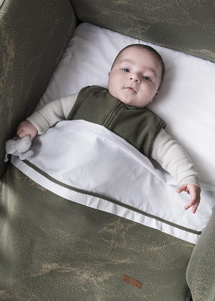 cot blanket teddy marble khakiolive