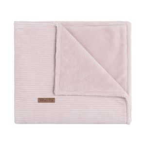 Cot blanket teddy Sense old pink